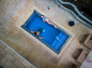 Honeymoon Villa Dipping Pool